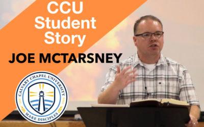 CCU Student Story – Joe McTarsney