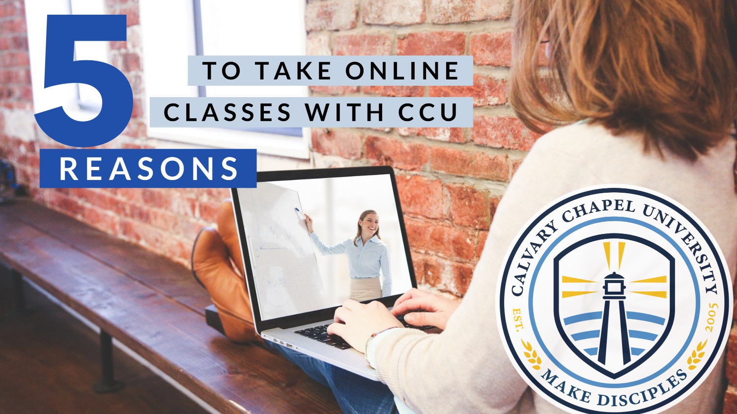 5 Reasons To Take Online Classes With CCU!