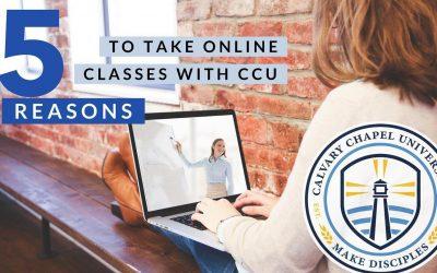 5 Reasons to Join Calvary Chapel University